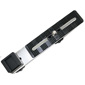 Emoblitz Black Straight Hot Shoe Flash ARMS Bracket for Camera 14cm