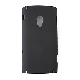 Protective PVC Case Cover for Sony Ericsson X10(black)