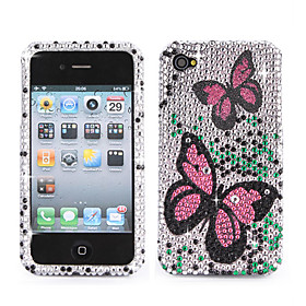 Suitable for Apple iPhone 4  Full Diamond Protex 3D PinkHear 4#