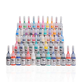 Complete Set 54 Color Tattoo Ink  54 x 5 mL