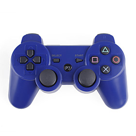 Wireless DualShock 3 Controller for PS3 (Blue)
