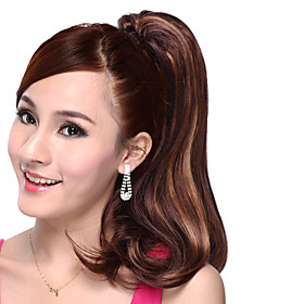 Long High Quality Synthetic Curly Ponytail-Three colors