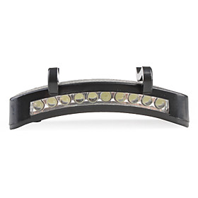 10 LED Cap Light 3XAAA Black