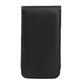 Premium PU Leather Case for iTouch 4 4G - Black