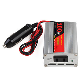 DC 12V to AC 220V 100W Car Power Inverter with USB Port