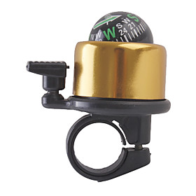 Bicycle Bell with Compass, Yellow