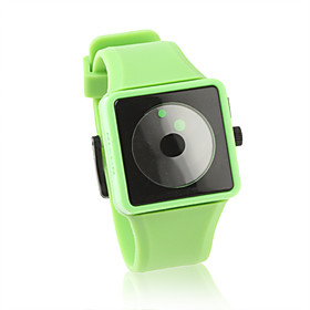 Fashion Silicone Band Quartz Wrist Watch(Green)