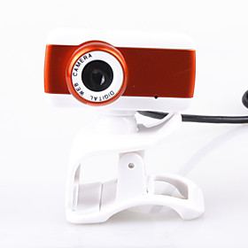Unique HDV Mini Webcam (Orange)