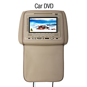 7 Inch Headrest Car DVD Player with FM Transmitter Game System