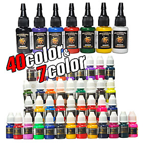 20% off 47 Bottles of Tattoo Ink