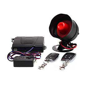 Two-way/one-way Car Alarm Security Sytem   2 Remote Control
