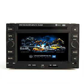 6.2 Inch Car DVD Player For Volkswagen with Bluetooth TV RDS