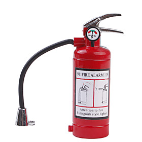 Extinguisher Shape Metal Gas Lighter with Light