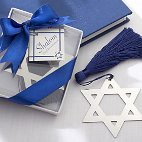 Star of David Bookmark Favors