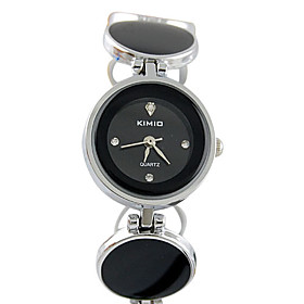 Japanese Quartz Movement Round Case Women's Watch