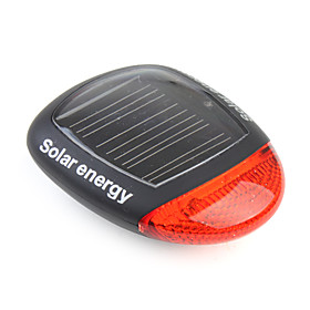 3 Mode Solar Power Energy Rechargeable Bicycle Tail Light with 2 Red LEDs XC-909