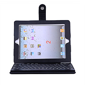 Case With Ultra Slim Bluetooth Keyboard (For iPad)