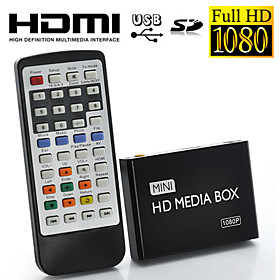 1080P Full HD Mini Multi-Media Player for TV, Supporting USB, SD Card and HDD, HDMI Output