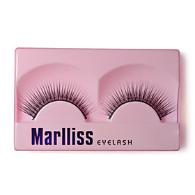 Nautral Looking Eyelashes With 1 Eyelash Glue 150# - 1 Pair Per Box