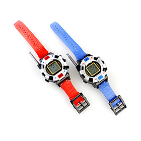 Toy Walkie Talkie Digital Watch (Blue and Red) - 2 pcs