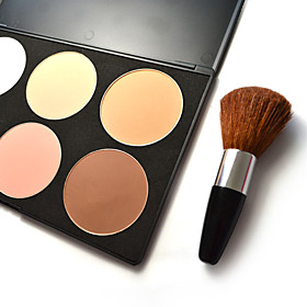 6 colors Shading Powder with Brush