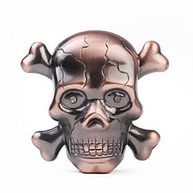 558 Skull Shape Metal Gas Lighter