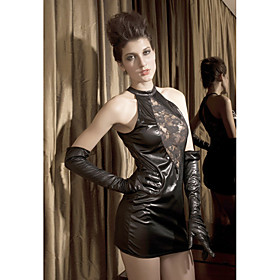 Gorgeous Leatherette Short-Length Sleepwear