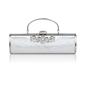 Stainless Steel With Rhinestone Evening Handbags/ Clutches/ Top Handle Bags More Colors Available