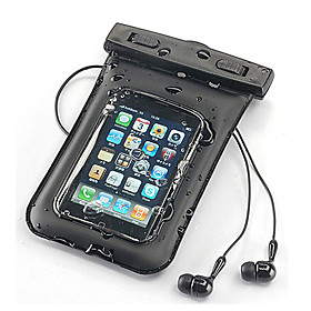 Waterproof Bag Pouch with Waterproof Earphone and Armband for iPhone