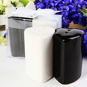 Heart Salt   Pepper Shakers Favor