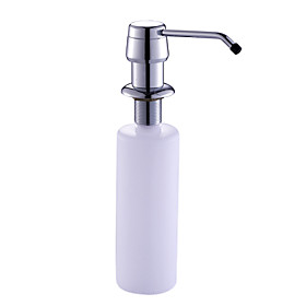 Chrome Finish Soap Dispenser for Kitchen Sink