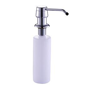 Chrome Finish Soap Dispenser for Kitchen Sink