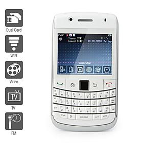 Dual SIM 2.4 Inch Qwerty Keyboard Cell Phone (WiFi, TV, FM)