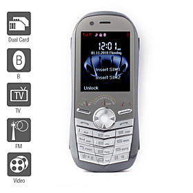 Sports Car - Dual SIM 2.0 Inch Bar Phone (Quadband, TV, FM, JAVA)
