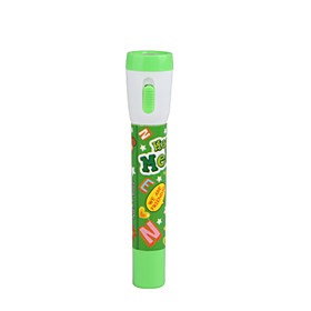 Cute Cartoon 2 in 1 Ball Pen and LED Flashlight(Green)