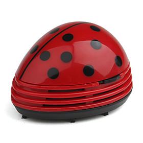 Mini Desk Vacuum Cleaner Table Vacuum Computer Vacuum Table Cleaner - Red
