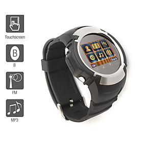 MQ222 - 1.33 Inch Watch Cell Phone (FM, Bluetooth, MP3 MP4 Player)