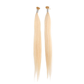 "20"" Keratin Pre-bonded Stick-tip Hair Extensions 100 Pieces Per Pack 26 Colors To Choose"