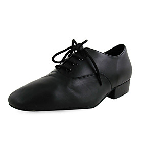 Real Leather Upper Dance Shoes Ballroom Modern Shoes for Men and Kids