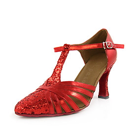 Sparkling Glitter/ Leatherette Upper Dance Shoes Ballroom Latin/ Modern Shoes for Women More Colors