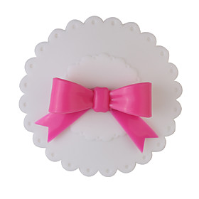Sealing Bow Tie Cup Cover (Red butterfly  White cover)