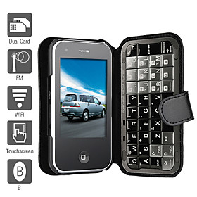 Da Peng - Dual SIM 3.2 Inch Qwerty Keyboard Cell Phone (WiFi, TV, FM)