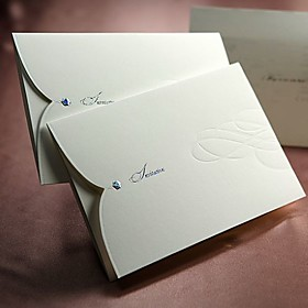 Wedding Invitation - Graceful Curve (set of 50)