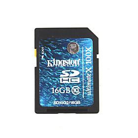 16GB Kingston SDHC Memory Card (Class 10)