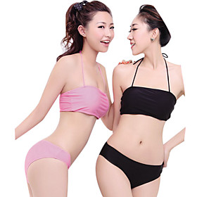 Youmena Sexy Bikini with Fashion One Piece Skirt Swimsuit Spandex Female Swimwear(Four Set)