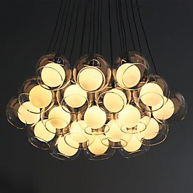 Modern Pendant Light with 19 Lights (G4 Bulb Base)