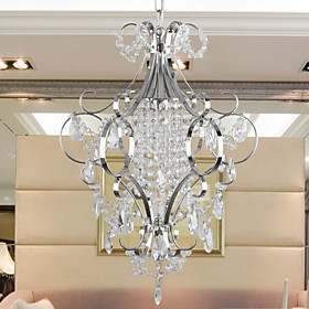 Modern Crystal Chandelier with Elegance
