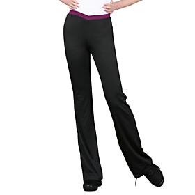 Ballroom Dacewear Low Rise Chinlon Jazz Pant