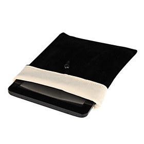 Protective Soft Cloth Pouch Case for 8 Inch Tablet (Black)