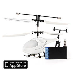 3 Channel I-Helicopter 777-171 with Gyro Controlled by iPhone/iPad/iPod iTouch (White)